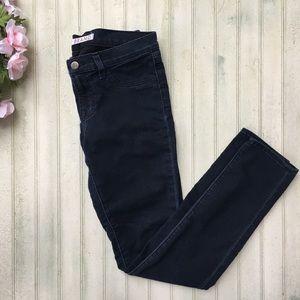 """J Brand """"Olympia"""" Dark Navy Jeggings Jeans"""